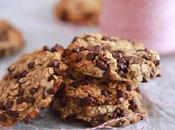Recette biscuits l'avoine pépites chocolat