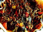 Pizza rustique ratatouille
