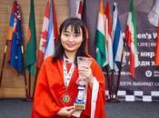 Wenjun Championne monde féminin d'échecs