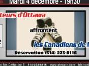 Sénateurs d'Ottawa Canadiens Montréal
