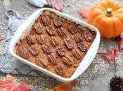 Purée patate douce-courge gratinée noix pécan