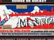 Canadiens Montréal écran géant