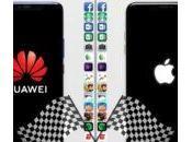 Speed Test l'iPhone surpasse Huawei Mate
