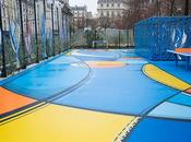 Paris inauguration Playground Halles signé l'artiste Romain Froquet