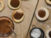 Linzer Cookies Tonka Caramel Beurre Salé