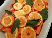 Carottes butternut l'orange