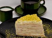 Gâteau Crêpes Citron (Lemon curd).