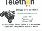 Rando quad Téléthon Jean d'Estissac (24) Comité Fêtes, novembre 2019