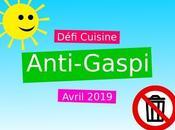Défi cuisine avril 2019 recettes anti-gaspi
