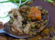 Soupe lentilles thon
