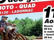 Rando moto quad l'Association Lez'enra'g, Genets Ladornac (24) août 2019