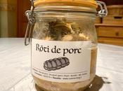 Rôti porc bocaux