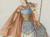 Walkyrie Grimgerde -Une maquette costume Charles Bianchini (1893)