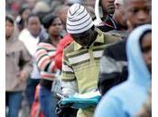 Afrique taux chômage historique