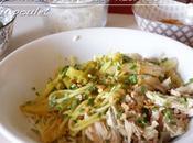 Soupe indonésienne nouilles poulet (SOTO AYAM)
