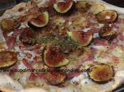 Pizza figues,bacon ricotta Fiberpasta*