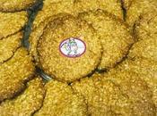 Biscuits flocons d'avoine cassonade
