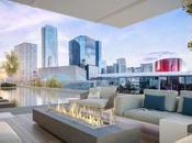 Hall Arts Residences tour luxe plus saine écologique Texas