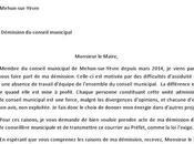lettre démission conseil municipal