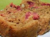 Cake cranberries noix pécan