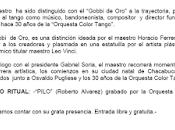 Hommage Roberto Alvarez soir Academia Nacional Tango l'affiche]
