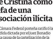 Pour Cristina lieu prononcé incrimination confirmée [Actu]