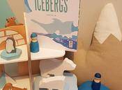 ICEBERGS Livre Pop-up Elmodie