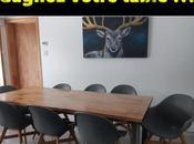 """Atelier Bleu Plume, concours """"Gagnez votre table"""""""