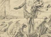 Lohengrin Paris 1891- Triumph Kunst/ triomphe l'art (Nebelspalter 26.09.1891)
