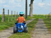 quad électrique pour enfant, moyen locomoté adapté enfant tout
