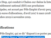 cette perpétuelle escroquerie candidat Chalon-sur-Saône