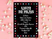 Liste films pour pyjama party