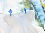 Mission printemps trier marquer vêtements enfants