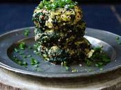 Croquettes quinoa, épinards feta