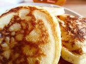 pancakes américains fluffy, épais moelleux