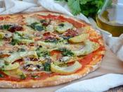 Pizza végétarienne légumes