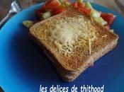 Croque monsieur fromage brebis