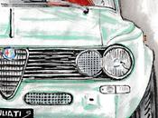 Dessin jour ALFA ROMEO Giulia T.I. Super (1962-1977