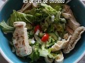salade pain pita