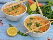Soupe thaï lait coco