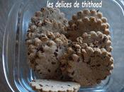 Biscuits sarrasin, sésame thym (recette autour d'un ingrédient #61)