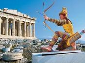 chefs-d'œuvre Grèce antique étaient peints couleurs éclatantes