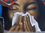 graffiti pour sauver vies. L'art s'engage contre coronavirus Sénégal