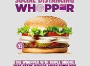 Burger King lance Social Distancing Whopper avec beaucoup d'oignons