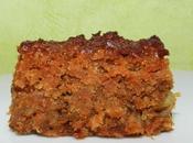 BLONDIES CAROTTE L'AQUAFABA (sans gluten, végétalien)