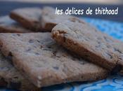 Biscuits farine châtaigne pépites chocolat
