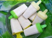 Sucettes glacées crémeuses miel (avec yaourt grec citron frais) creamy honey popsicles with greek yoghurt fresh lemon juice paletas heladas cremosas (con yogur griego jugo fresco limon) مصاصات العسل المجمدة ال...