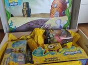nouvelles Figurines l'Éponge Unboxing colis Nickelodeon
