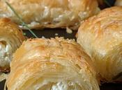Böreks turcs, cuisson four.