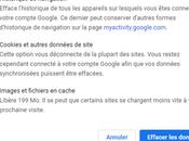 Comment vider cache dans Google Chrome